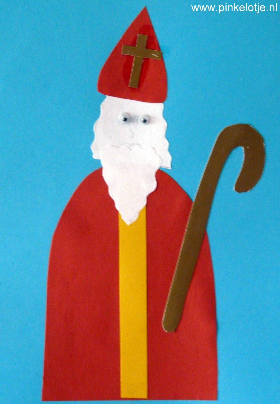 Sinterklaas Knutselen Sinterklaasfeest Bij Pinkelotje